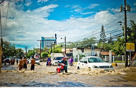 Banjir, pembelajaran, PAUD