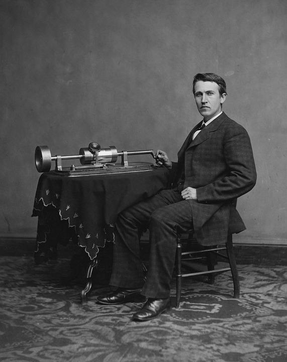 Thomas Alva Edison, Penemu lampu, Biografi thomas Alva Edison